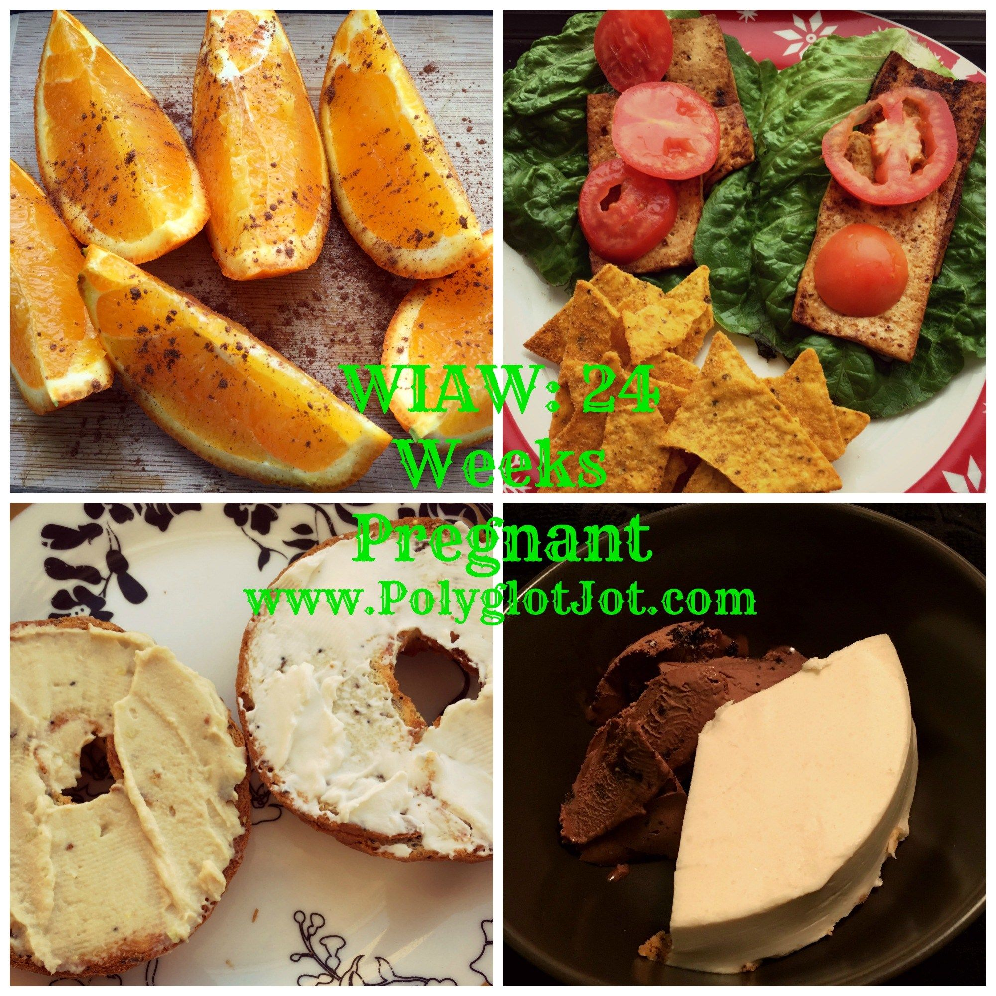 A day of healthy eats at 24 weeks pregnant