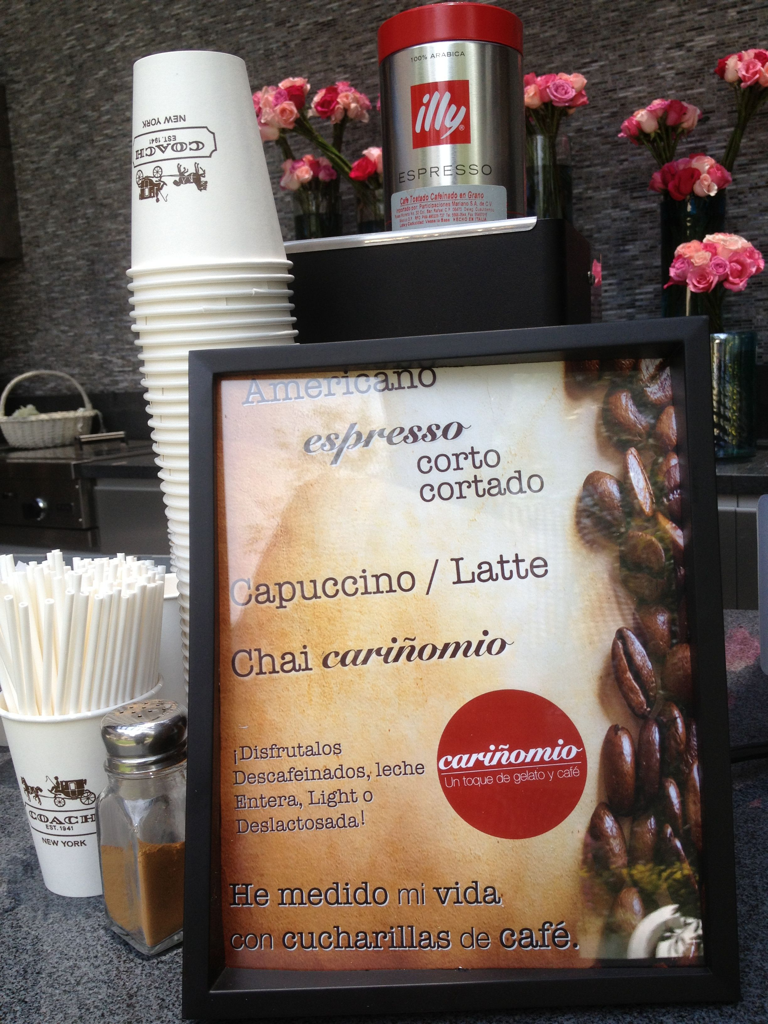 Mide tu Vida con cucharillas de Café.