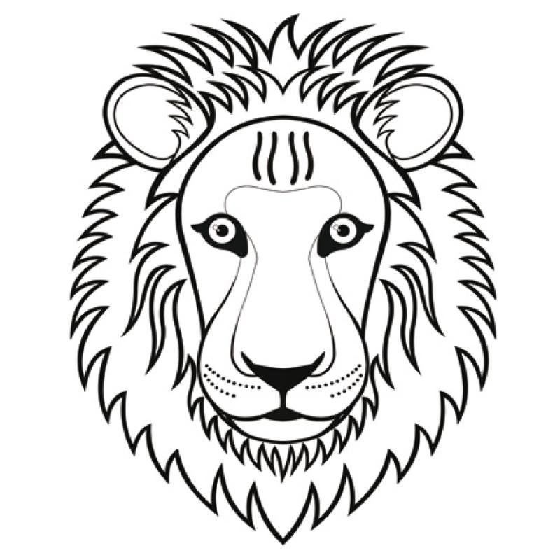 crazymals masker leeuw 14030034 leeuw knutselen leeuwen