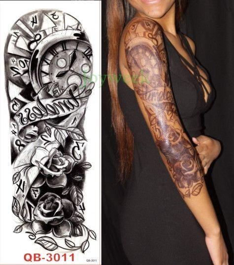 Tattoo Waterproof Temporary Tattoo Full Arm Full Sleeve Tattoo Design Sleeve Tattoos Full Sleeve Tattoos