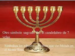 Resultado De Imagen Para El Candelabro Del Tabernaculo Velas Sagrado Simbolos
