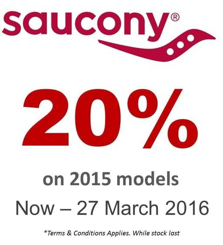Running Lab Saucony 2015 Model