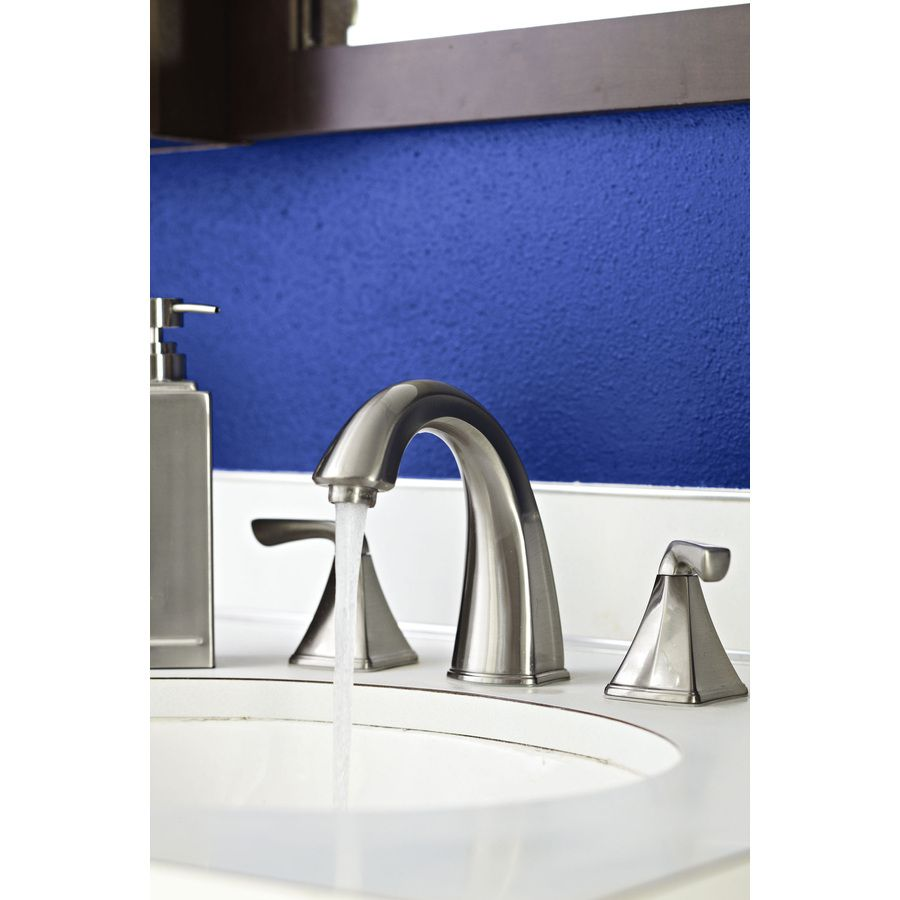 Shop Pfister Selia Brushed Nickel 2-Handle Widespread WaterSense ...