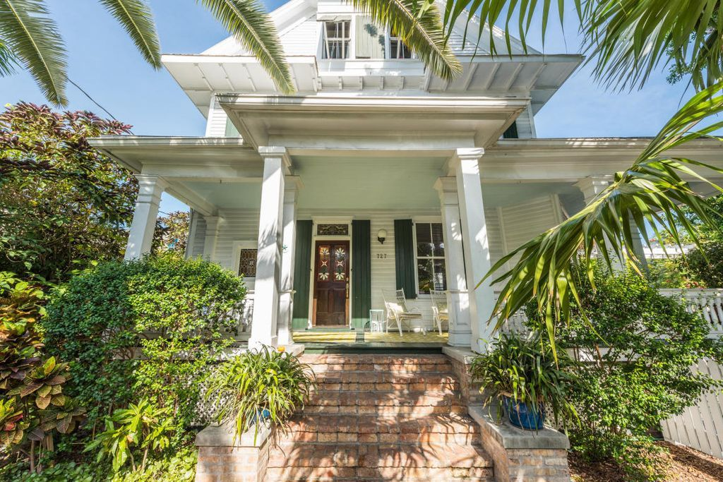 Tropical Perfection In Old Town Key West Circa Old Houses Old