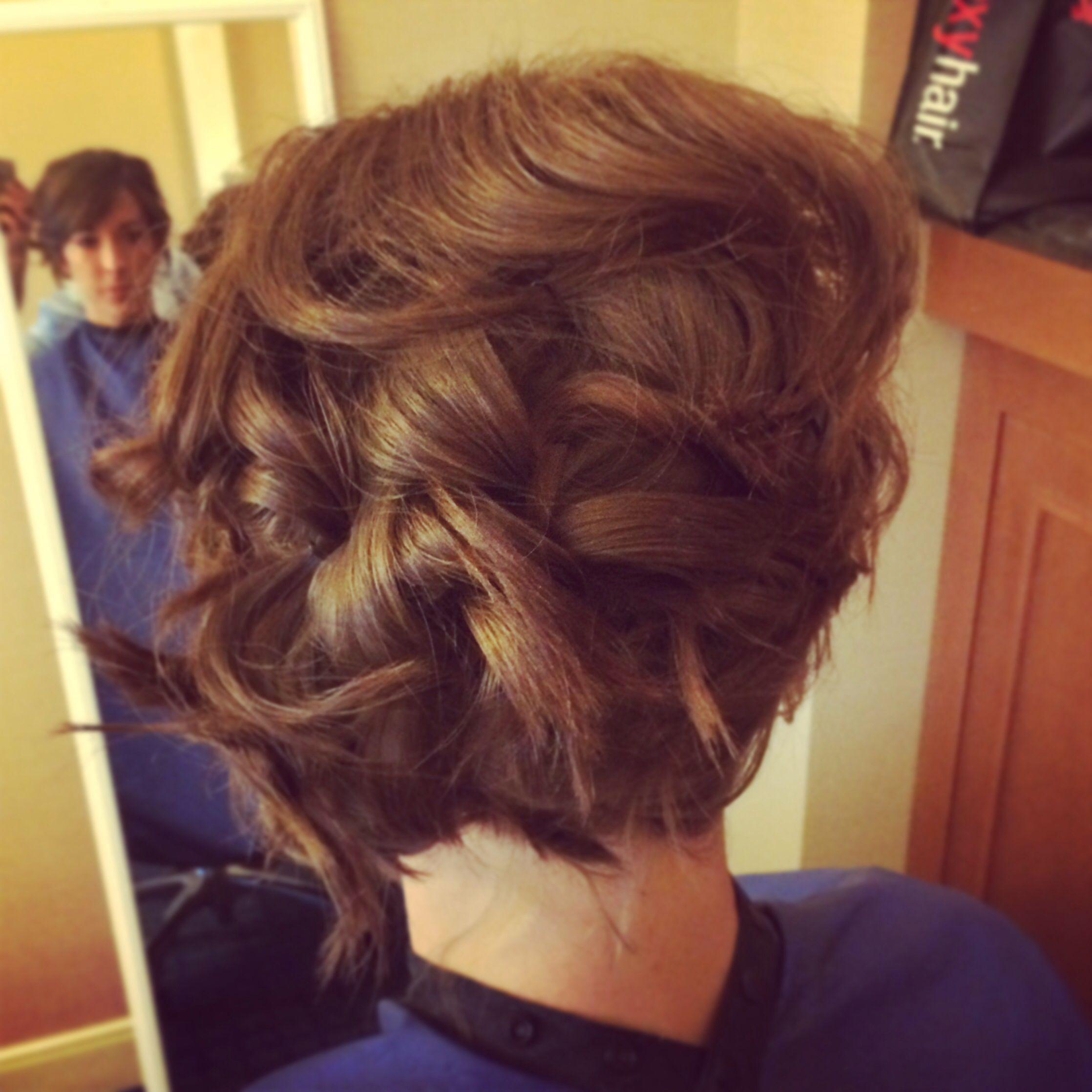Surprising Hair Updo For Short Hair By Natalie Land Salon 116 Download Free Architecture Designs Scobabritishbridgeorg