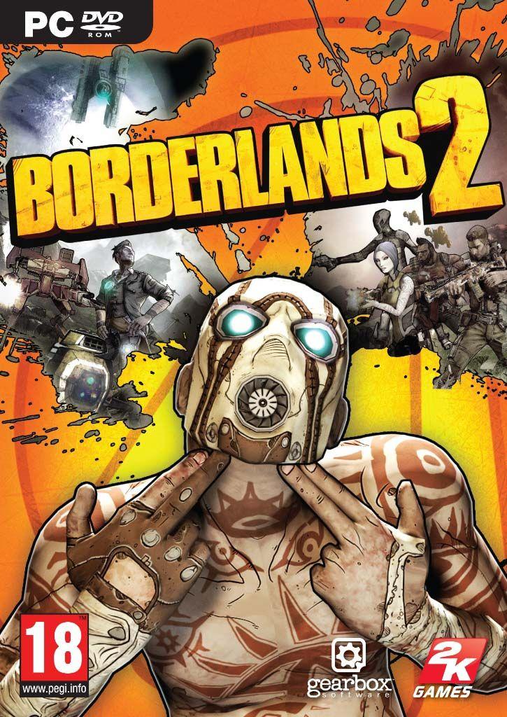 Borderlands 2 Video Game Poster Borderlands 2 xbox 360