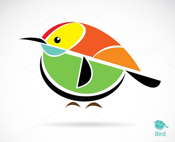 Vector image of an bird @photoshoplady