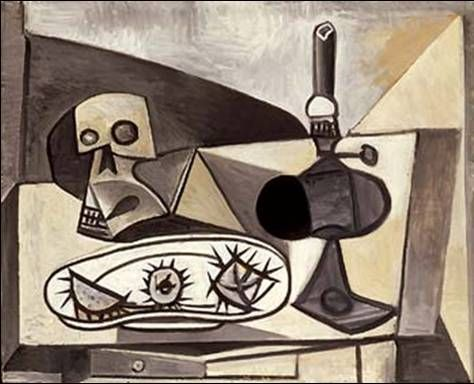 Pablo Picasso, Nature Morte Aux Oursins (1946). | Still Life ...