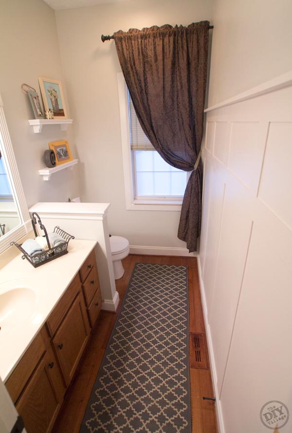 modern bathroom makeovers on a budget | A Bathroom Makeover on a Budget | Bathroom styling, Modern ...