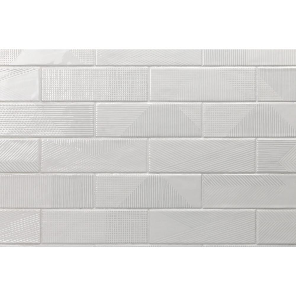 Ivy Hill Tile Ace Gray 2 In X 8 In X 9 Mm Polished Ceramic Subway Wall Tile 38 Pieces 5 38 Sq Ft Box Ext3rd101248 The Home Depot Wall Tiles Splashback Tiles Ivy Hill Tile