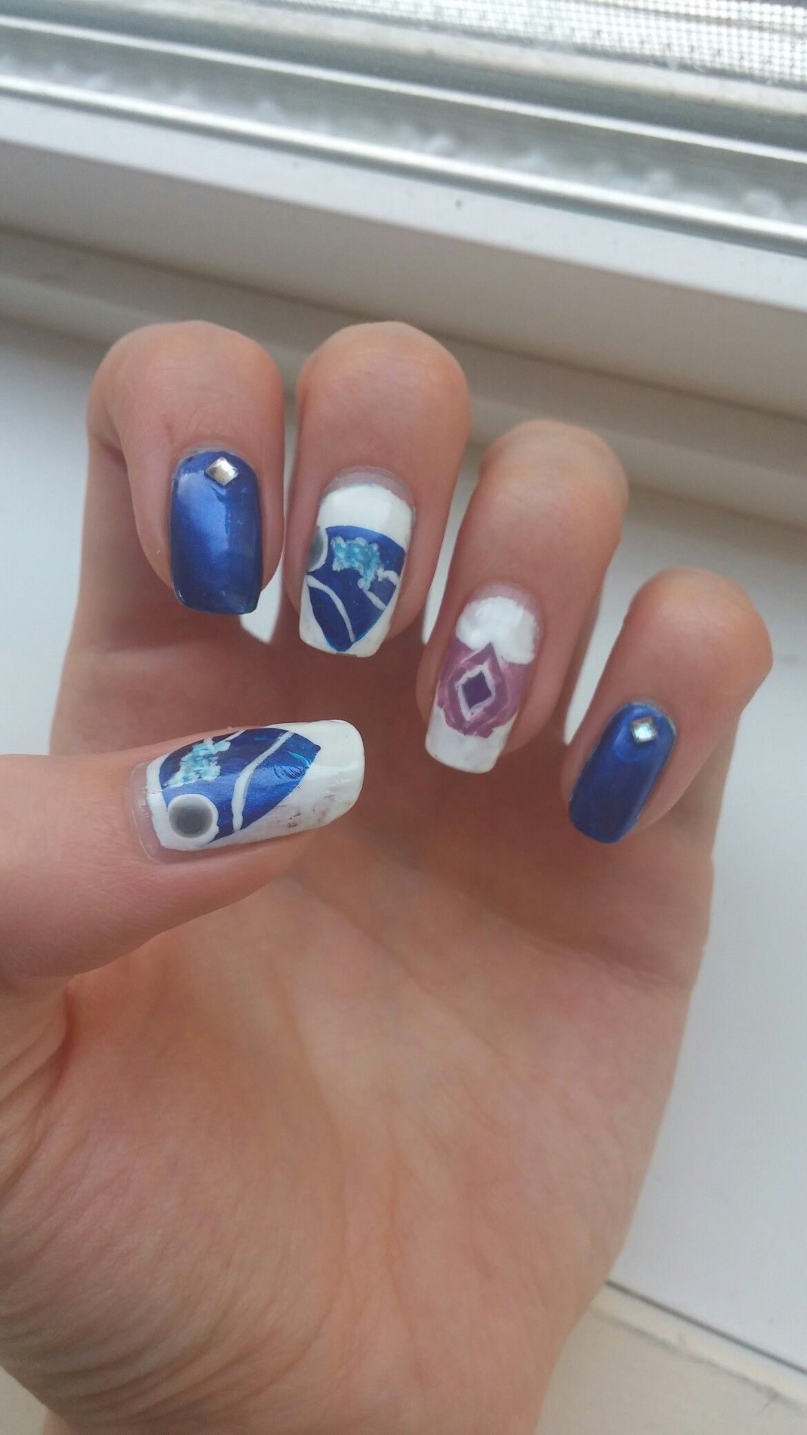 Rocket League Nails! #nerdnails #videogames #rocketleague | Nerdy ...