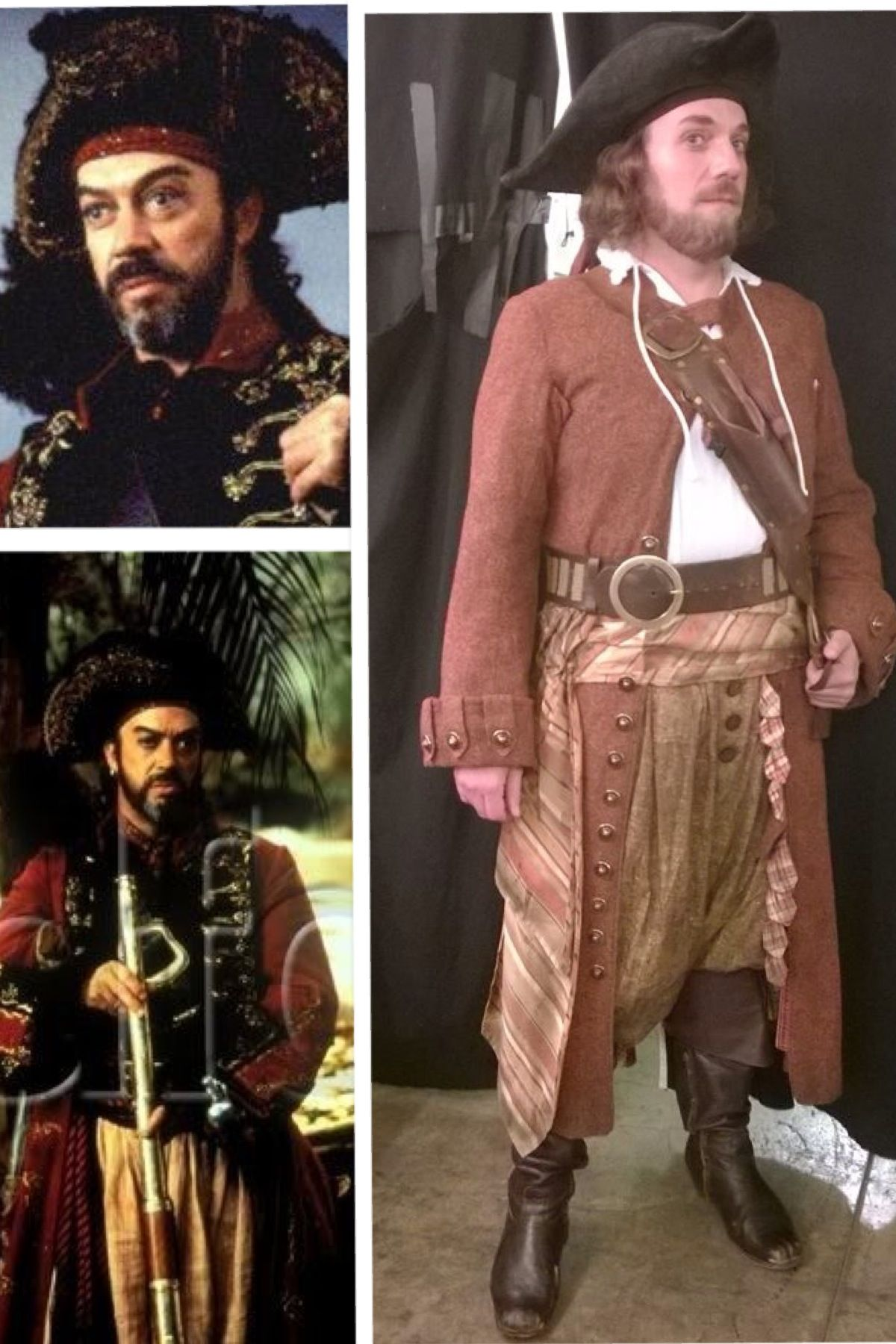 Wade in Pirates of Penzance, bearing a striking resemblance to Tim Curry in Muppets Treasure Island.