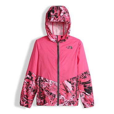 5d83ab7a1d6e The North Face Girls  Flurry Wind Hoodie Sweatshirt  Kids
