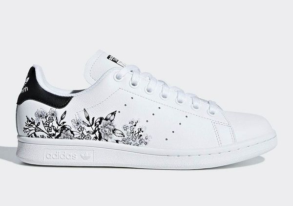 adidas' Charming Floral Embroidered 'Stan Smiths' Are Truly ...