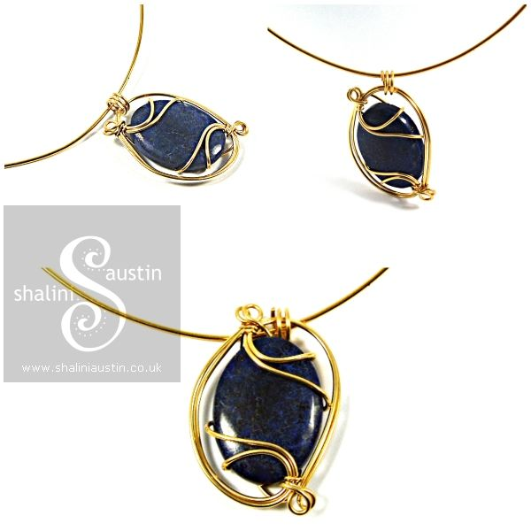 Special gift for a special lady. Chilean Lapis Lazuli & Gold Filled ...