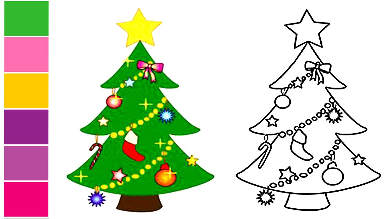 How To Draw Xmas Tree How To Draw A Christmas Tree Simple Drawing Tutorial For Beginners Simple Christmas Tree Xmas Tree Drawing Tutorials For Beginners