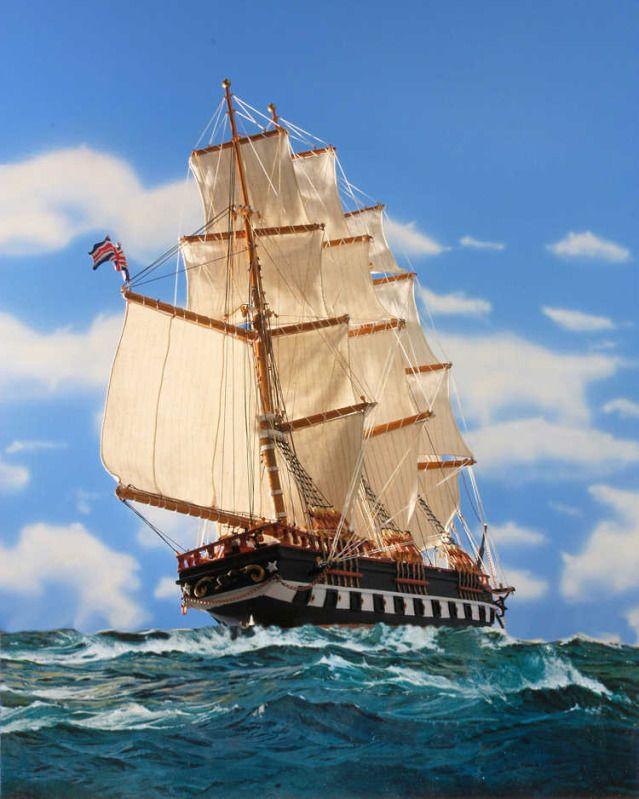 Sailing Ship Marco Polo Under Full Sail Sailing Ships Sailing