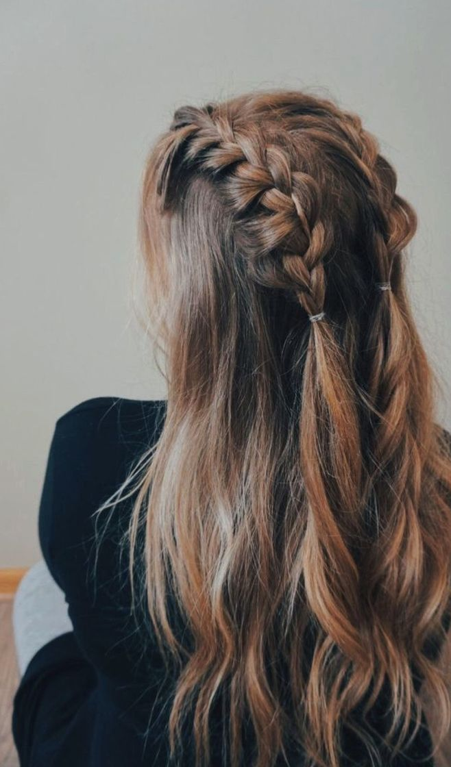 Easy Hairstyle Girls Girls Easy Hairstyle Cute Hairstyle Girls Quick Hairstyle For Girls Cute H Cute Ponytail Hairstyles Post Workout Hair Long Hair Styles