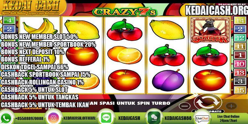 Cara Bermain Game Slot Crazy 7s Pragmatic Play Slots Play Slots Slots Games Leprechaun Song