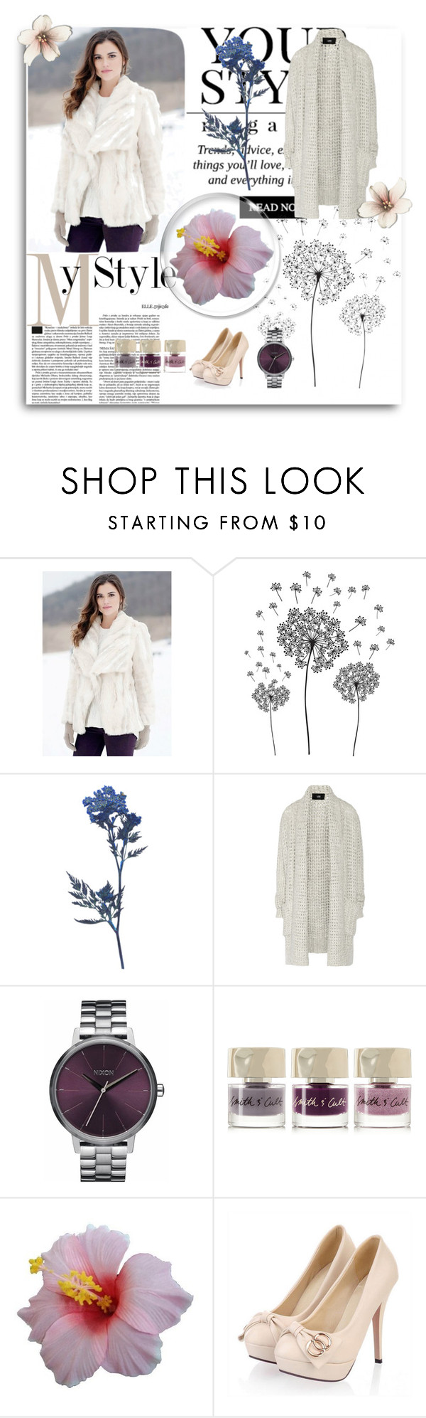 """Untitled #107"" by andreia-s5 ❤ liked on Polyvore featuring Fabulous-Furs, jcp, Line, Nixon, Smith & Cult and Pussycat"