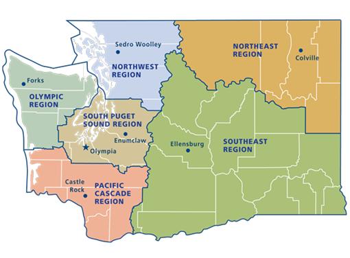 State Of Washington Job Opportunities Work That Matters Camping In Washington State Northwest Region Northeast Region