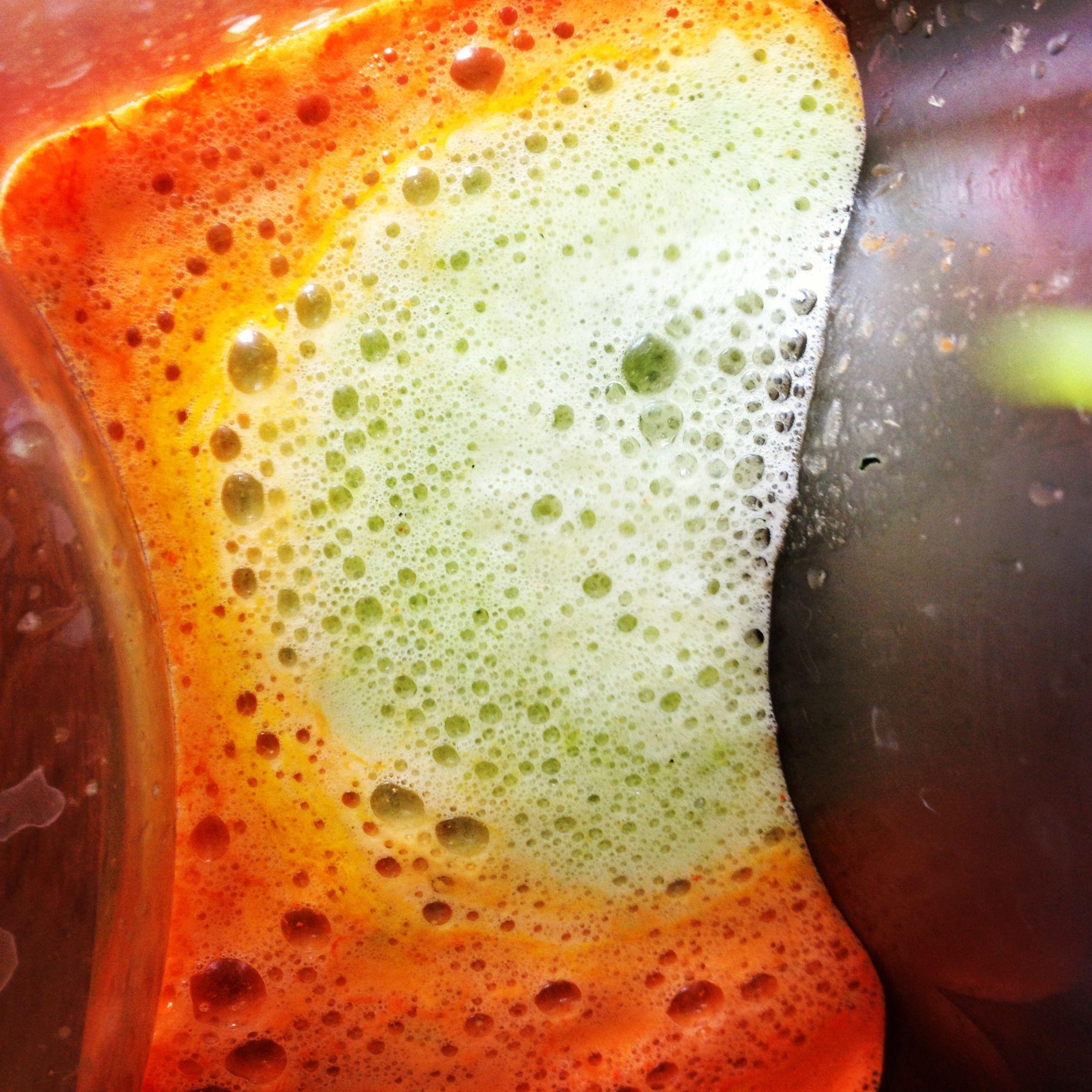 Grøn nypresset juice
