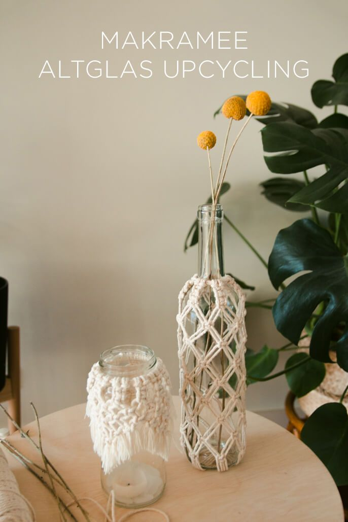 Photo of MACRAME WINDLIGHT CROSS KNOTS DIY DECO