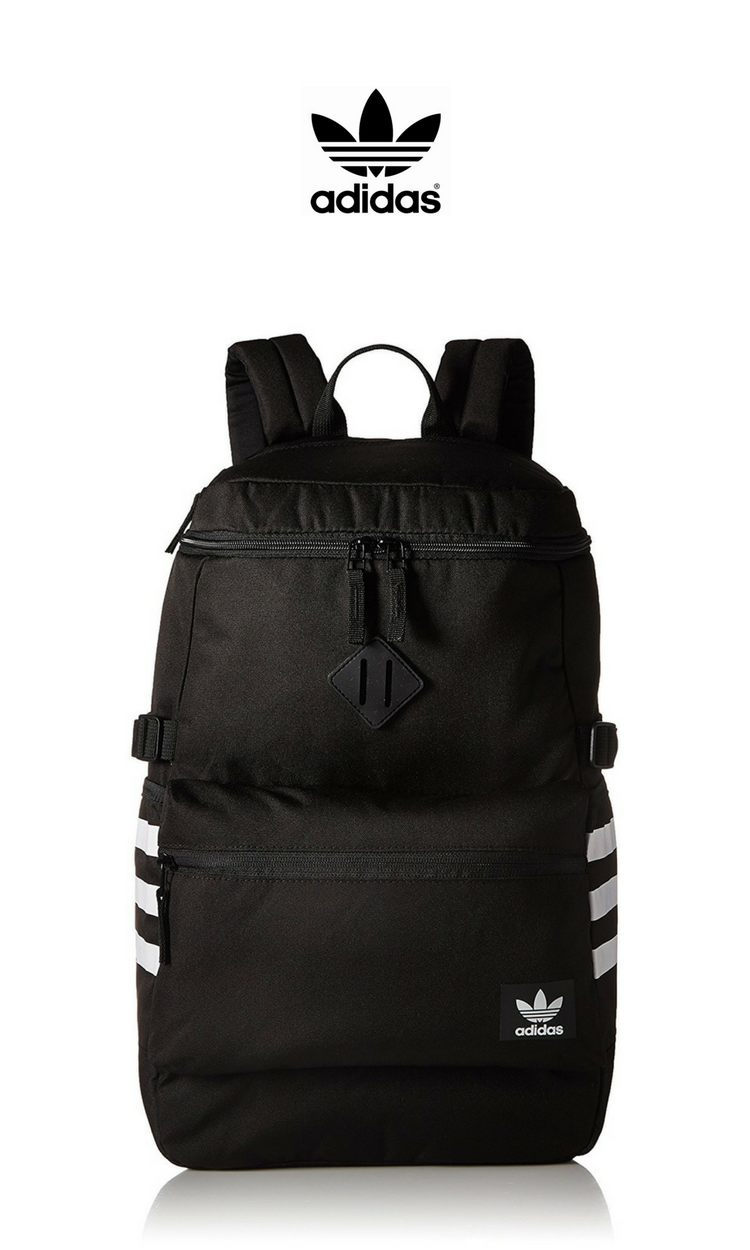 82c401d6c1ab Adidas Originals - National Zip Top Backpack