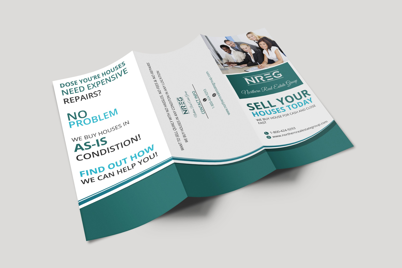 Design Flyer Or Bifold Or Trifold Brochure Design Trifold Brochure