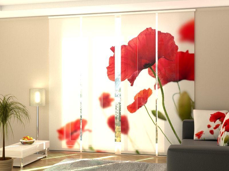 Schiebegardinen Nach Mass Schiebevorhange Raumteiler Flachenvorhang In Fotodruck 3d Kaufen Bei Hood De Schiebegardine Rollos Gardinen