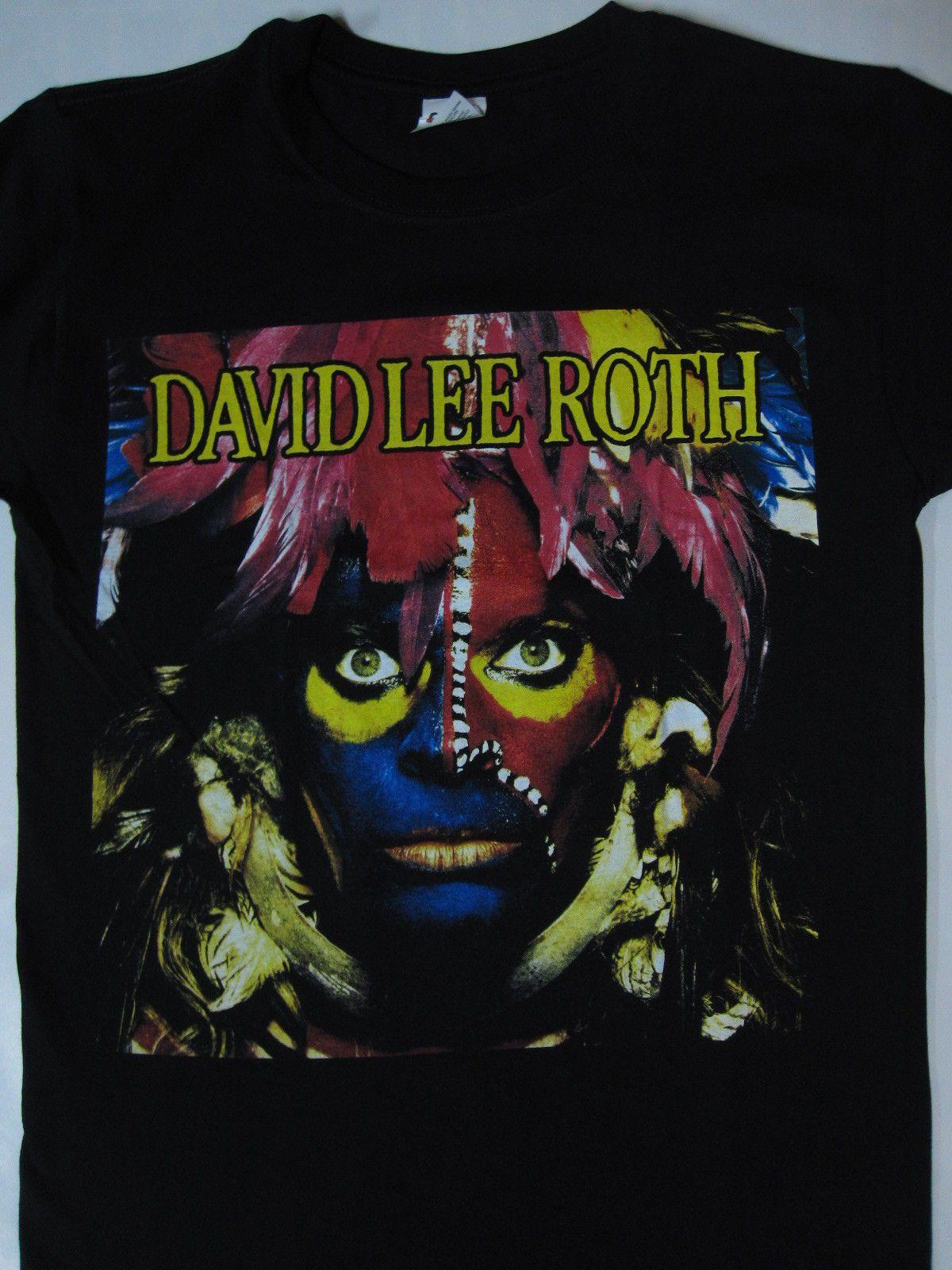David Lee Roth Eat Em And Smile Tour T Shirt S Xxl David Lee Roth David Lee Tour T Shirts