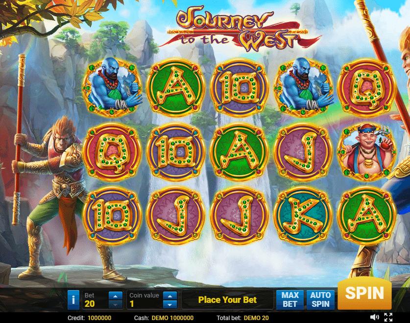 West Journey Slot Machine Game