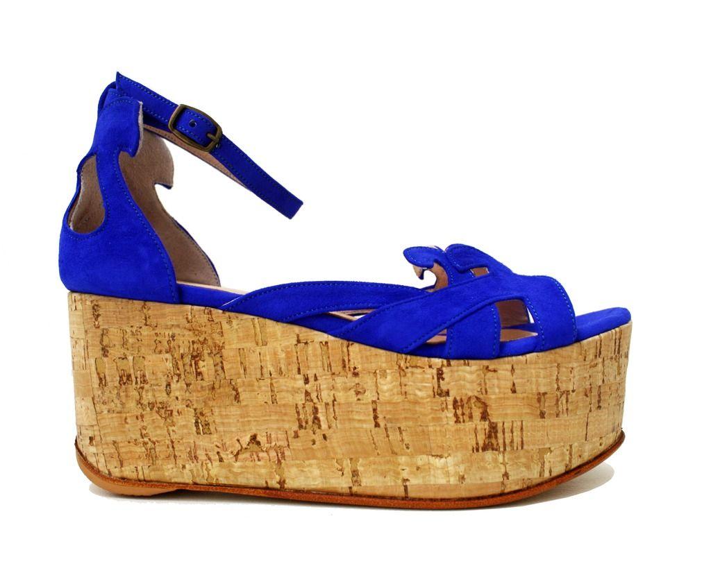 5ebc2569 GYPSOFILIA ♥ Azul Francia — VALENTINA COLUGNATTI   REAL SHOES  www.valentinacolugnatti.com.ar