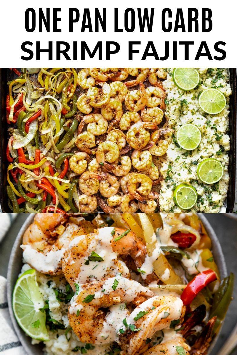 One Pan Shrimp Fajitas   The Movement Menu