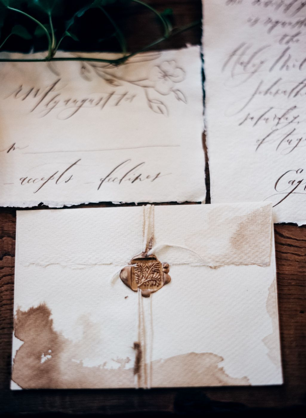 French Inspired Wedding Ideas with Wedding Invitations by Owl Post ...