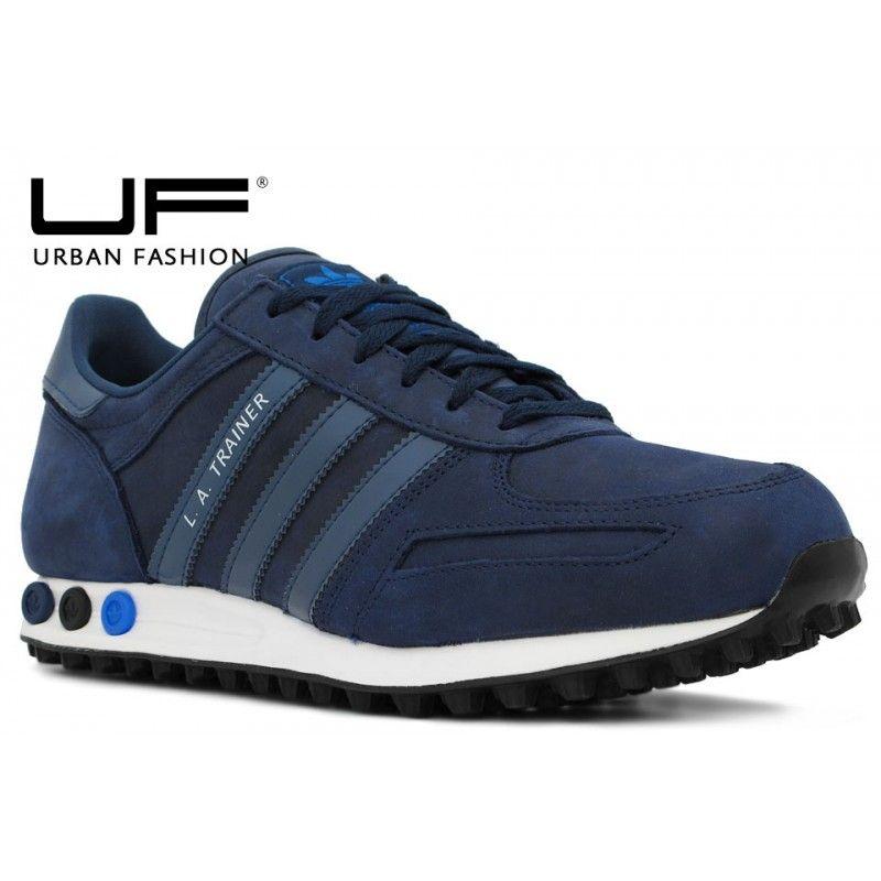 Adidas L.A. Trainer Marino   Zapatillas hombre moda, Zapatos ...