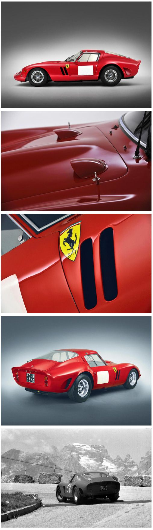 1962 63 Ferrari 250 Gto Berlinetta The Ex Jo Schlesser Henri