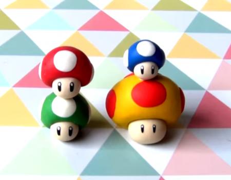 Super Facile A Reproduire Decouvrez Les Champignons De Mario Bros