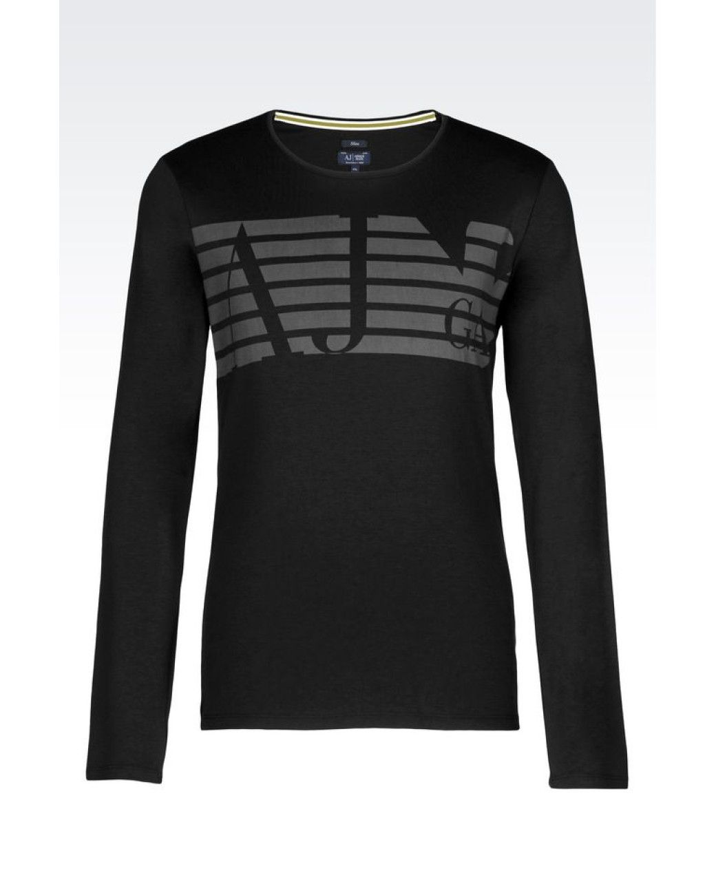 5628768007 Men s Black Print T-shirt