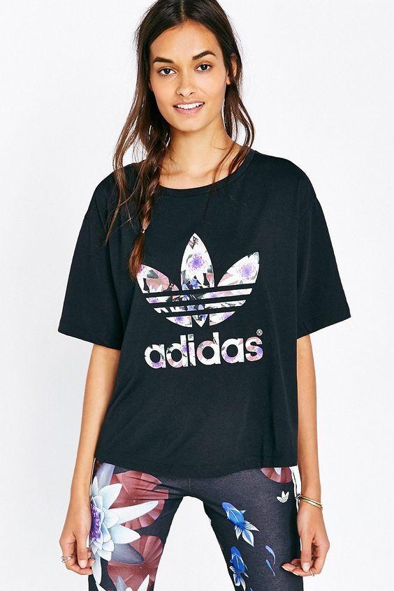 f3b90aa38c6c8e look-camiseta-adidas-originals | Street Style | Camiseta esportiva ...