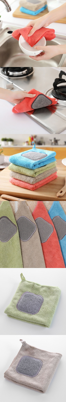 Kitchen dishwasher clean fiberglass towel can wrap clamp wipes