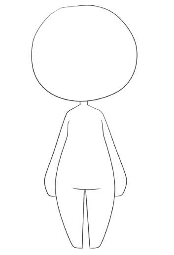 chibi body template