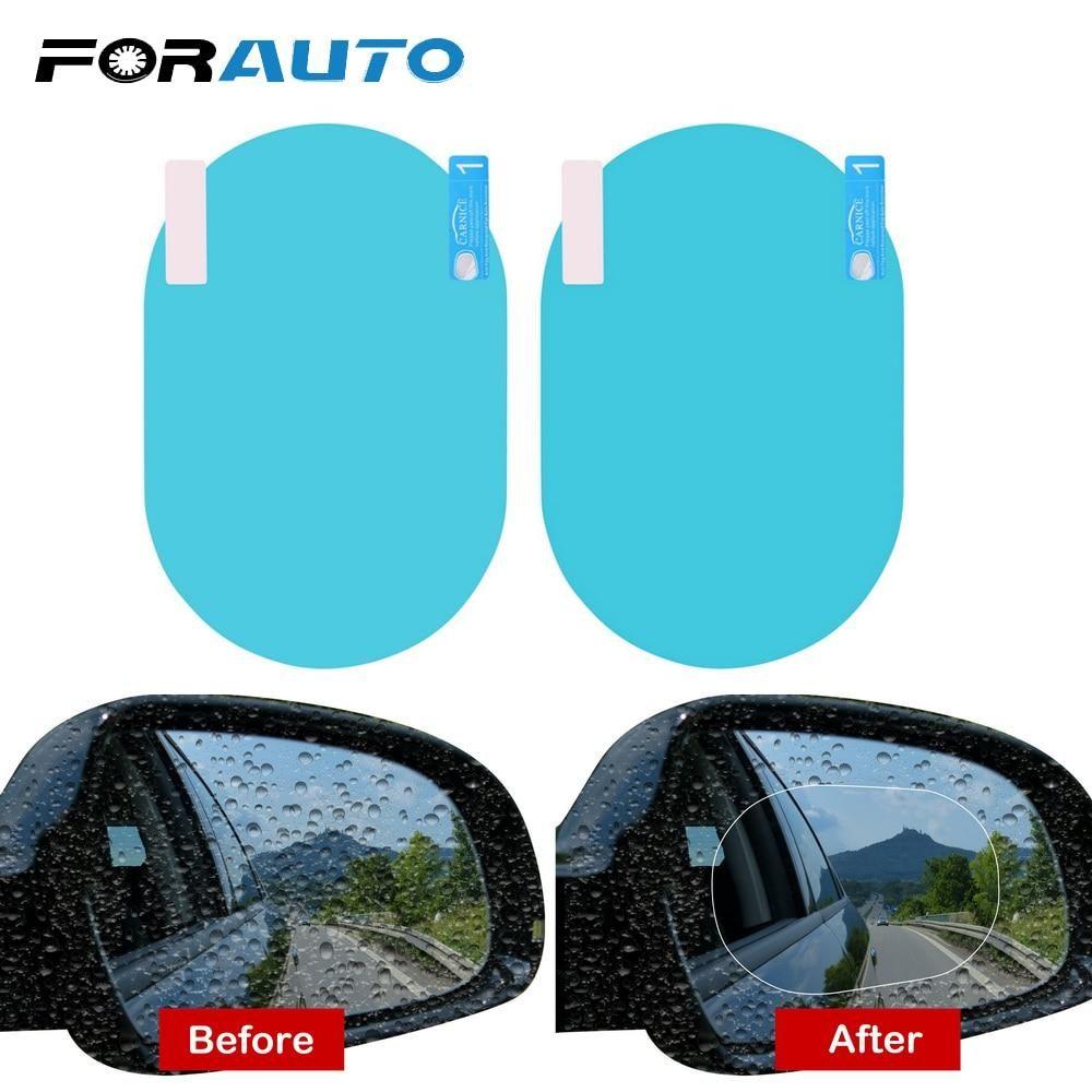 2pcs Set Waterproof Sticker For Mirror Free Shipping In 2020 Car Rear View Mirror Side Mirror Car Mirrors Film