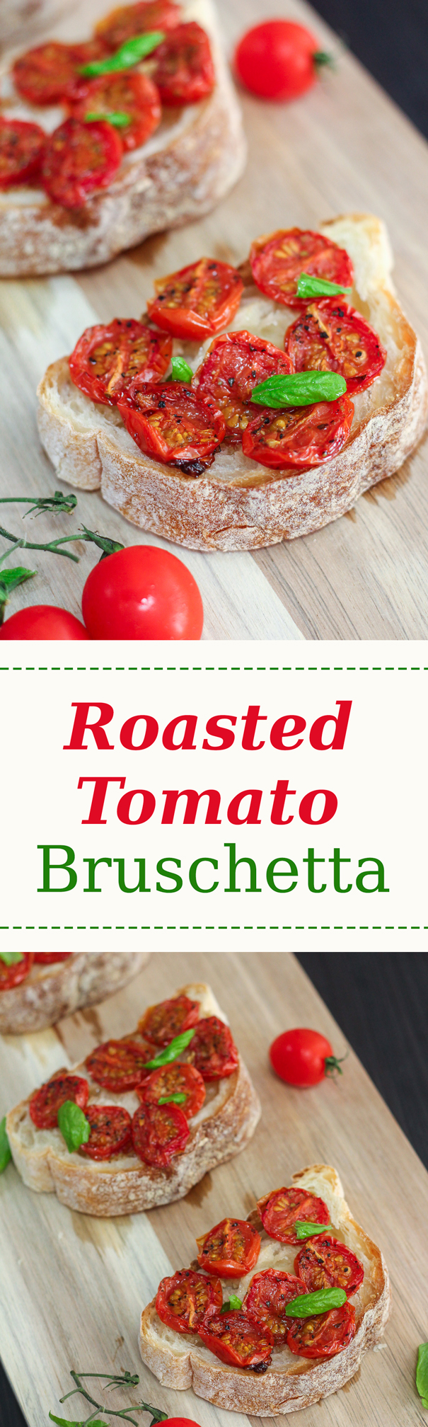Bruschetta is a traditional Italian snack that is easy yet flavorful.