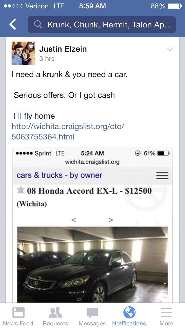 Craigslist Wichita Cars Start the purchase online and the dealer will deliver the car & paperwork to you. how to search all of craigslist