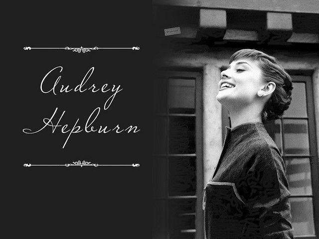 Audrey Hepburn by Lia Lake, via Flickr
