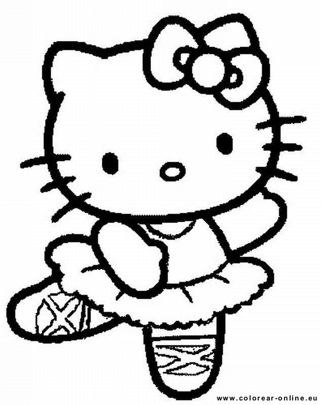Colorear Dibujos De Hello Kitty Dibujos Para Colorear Dibujos De Hello Kitty Cosas De Hello Kitty Hello Kitty Imprimible