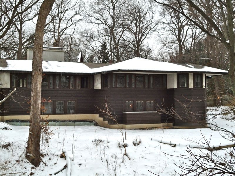 Frank Lloyd Wright Prairie Houses william a. glasner house. 1905. glencoe, illinois. frank lloyd