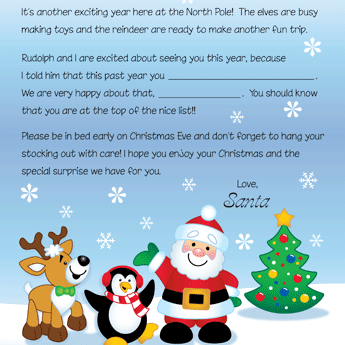 Free printable letters from santa and his friends and a few others free printable letters from santa and his friends and a few others spiritdancerdesigns Choice Image