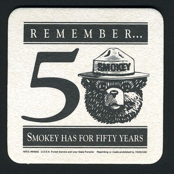 Smokey Posters Fire Bear Prevention
